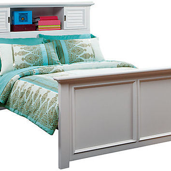 Belmar White 3 Pc Twin Bookcase Bed