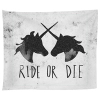 Ride or Die Tapestry