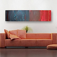 SUMERiA original abstract modern painting gallery by linneaheide