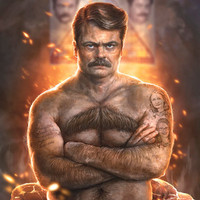 Ron ****ing Swanson Art Print by Sam Spratt | Society6