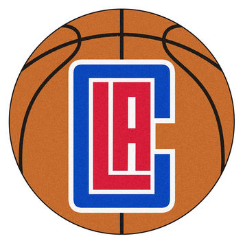 Los Angeles Clippers NBA Basketball Mat (29 diameter)