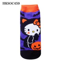Hello Kitty socks character socks sneakers socks design Halloween Black Cat!