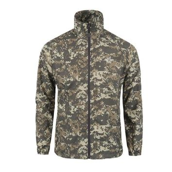 Camo Quick Dry Sun Protective Hunting Clothes Ultra Light Tactical Outdoor Jacket Men Hoodie Sport Camping Hiking Climbing Coat