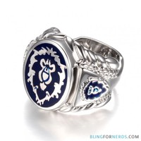 World of Warcraft - Alliance Signet Ring