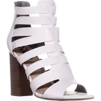Circus Sam Edelman York Strappy Dress Sandals, White, 6 US