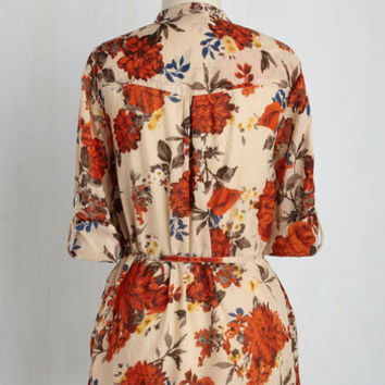 Orchard Up! Button-Up Top | Mod Retro Vintage Short Sleeve Shirts | ModCloth.com