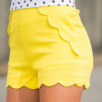 Show Must Go On Shorts, Lemon