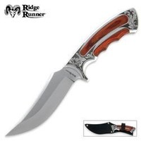 Ridge Runner Executive Wood Bowie Knife