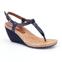 Lauren Ralph Lauren Reeta Wedge Sandals - Modern Navy