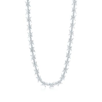 Tiffany & Co. - Tiffany Victoria®:Mixed Cluster Necklace