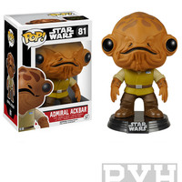 Funko Pop! Star Wars: Admiral Akbar [EP7] - Bobble-Head