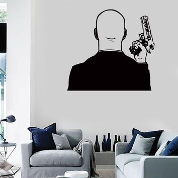 Wall Stickers Vinyl Decal Weapons Mafia Gangster Gun Killer Unique Gift z1028