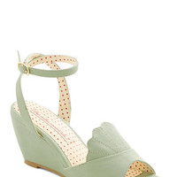 Bait Footwear Pastel Meant to Beach Wedge in Mint