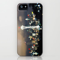 Seattle Bokeh iPhone & iPod Case by wanderlustofthesea