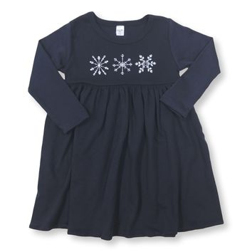 Snowflake Long Sleeve Dress