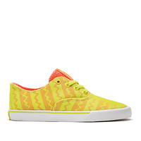 WMNS WRAP ORANGE / TENNIS - WHITE | Official SUPRA Footwear Site