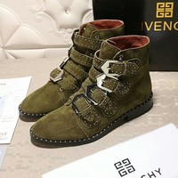 Givenchy Women Fashion Casual Punk Boots Shoes 3