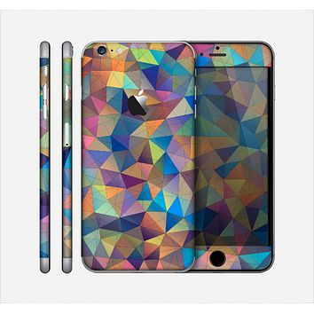 The Colorful Vibrant Triangle Connect Pattern Skin for the Apple iPhone 6 Plus