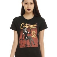 DC Comics Catwoman #32 Bombshell Variant Cover Girls T-Shirt
