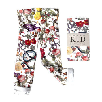 Snakes and Roses Kids Tights