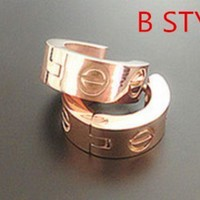 Cartier Woman Fashion Plated Ring Jewelry
