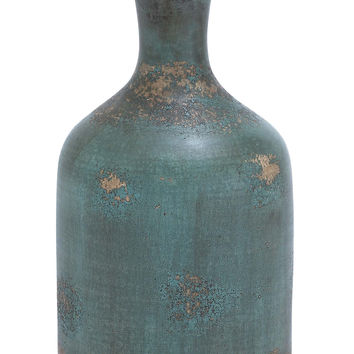 Long Lasting Terracotta Bottle Vase with Rich Color
