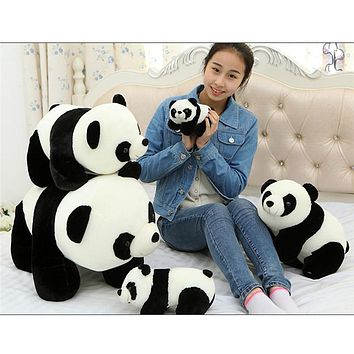 Cute Big Panda Dolls Children Cartoon Stuffed Animals Toys for Baby Boys Girls Birthday Christmas Gift