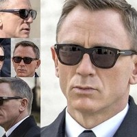 Square James Bond Men Sunglasses