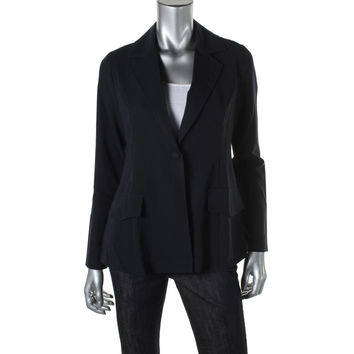 Maternal America Womens Maternity Long Sleeves One-Button Blazer