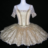 Ballet Tutu - Professional golden color ballet tutu
