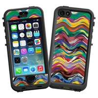"Wavy Paint Swirls ""Protective Decal Skin"" for LifeProof nuud iPhone 5s Case"