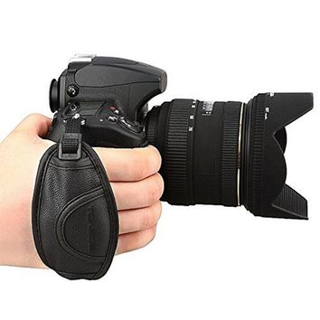 TOAZOE Camera Leather Hand Grip for Canon 700D 650D 60D 70D 7D 5D2 5D3 for Nikon D750 D600 for Sony Olympus SLR/DSLR Wrist Strap