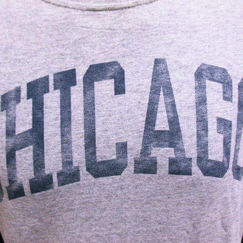 Vintage T-Shirt Chicago Indie Hipster Holiday Tourist M