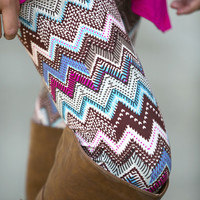 Chevron Digital Leggings