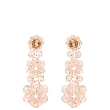 Floral-bead drop earrings | Simone Rocha | MATCHESFASHION.COM US