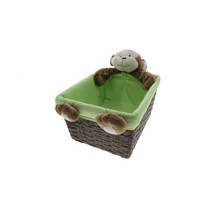 Babies R Us  Plush Monkey Nursery Basket