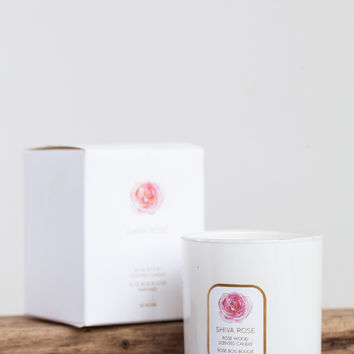 Shiva Rose Wood Scented Candle