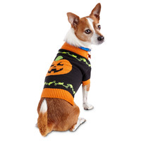 Wag-a-tude Happy Pumpkin Dog Sweater