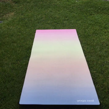 Sunset Yoga Mat - Yoga mat / Work out / Yoga Mats / Sunset Art / Gift idea for a health nut / exercise / fitness / well being / Ashtanga