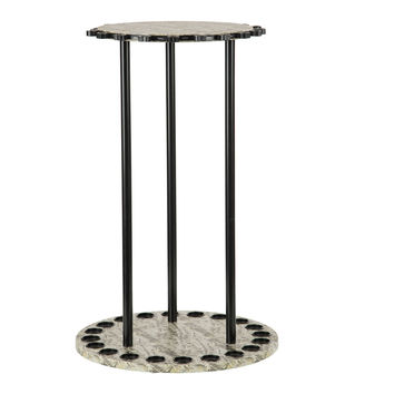 Organized Fishing 20 Capacity Round Spinning Rack-Camo