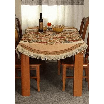 Tache Colorful Floral Country Rustic Morning Meadow Tablecloths (DBTC-5598-45)
