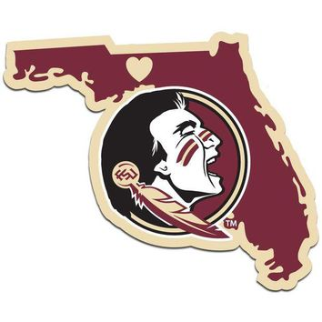 ONETOW NCAA Florida State Seminoles Home State Decal