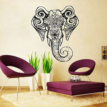 Elephant Wall Decal Vinyl Sticker Decals Ganesh Lord Of Success Hindu Hand  God Buddha