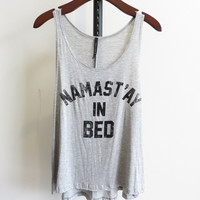 Namast'ay in Bed Graphic Tee