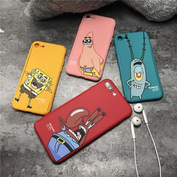 Songebob Characters Phone Case