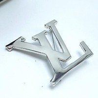 8DESS Louis Vuitton LV Women Fashion Plated Brooch Jewelry