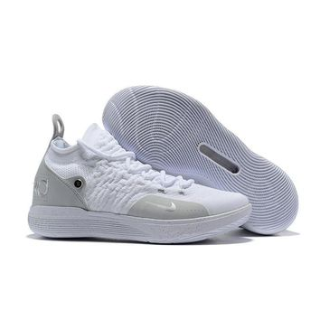 Nike KD 11 Pure White Kevin Durant Sneakers