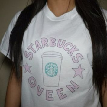 Starbucks Queen Shirt from Teenage Apparel