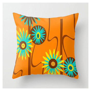 Mod Throw Pillow, Mid Century Modern Pillow,Cool Pillow, Mod Pillow, Modern Pillow, Mod Cushion,Modern Cushion, Cool Cushion, Retro Pillow
