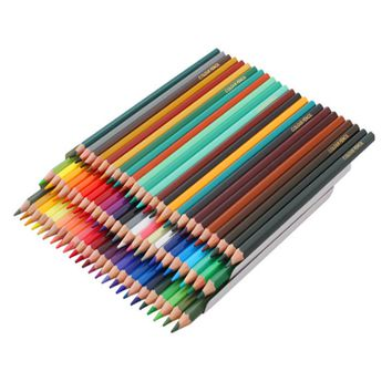 72 Oil Color Pencils Pack